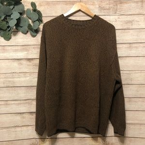 TOMMY BAHAMA Knit Sweater Brown Large